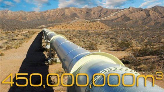 انتقال-روزانه-۴۵۰میلیون-مکعب-گاز-از-گلوگاه-مرکزی-کشور