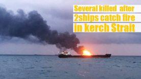 آتشسوزی-دو-نفتکش-در-شبهجزیرهکریمه