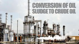 Conversion-of-oil-sludge-to-crude-oil