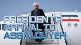 President's-arrival-to-Assalouyeh