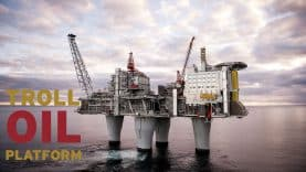 Troll-oil-platform