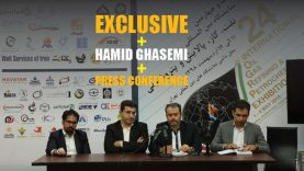 hamid ghasemi press confer
