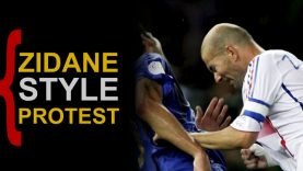 Zidane-style-protest
