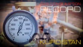 Kurdistan-Gas-consumption-record
